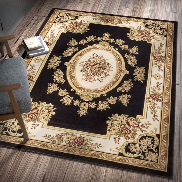 "Well Woven Vanguard French Aubussion Area Rug - 9'2"" x 12'5"""