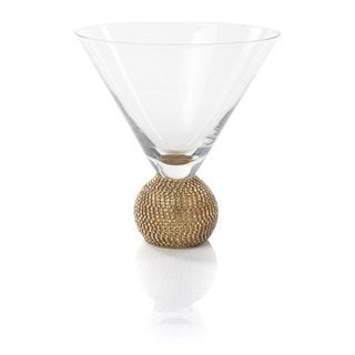Gold Biarritz Martini Glass (set of 4)
