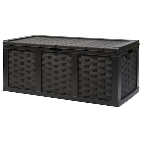153 Gallon Plastic Deck Box
