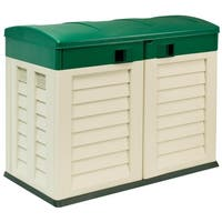 "Garden Shed ""Willy"",Beige/Green"