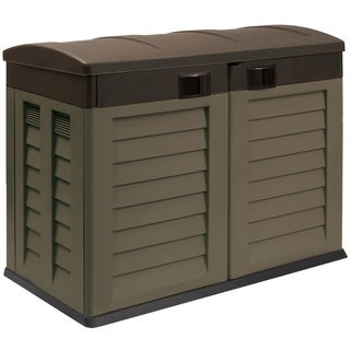"""Garden Shed """"Willy"""",Mocha/Brown"""
