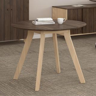 Ameriwood Home AX1 Walnut Meeting Table