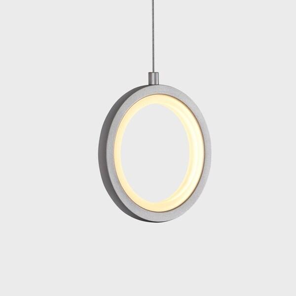 VONN Lighting VMP27300BL Tania 5-inch Integrated LED Pendant in Black