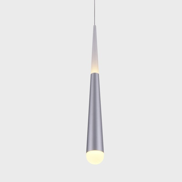 VONN Lighting VMP26910AL Procyon 7-inch Integrated LED Pendant in Black
