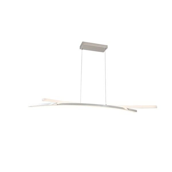 Harbor Chrome Finish Aluminum 52-inch Pendant Lamp