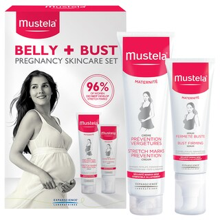 Mustela Pregnancy Belly and Bust Set