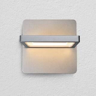 VONN Lighting VMW17400AL Atria 6-inch Rotative Integrated LED Wall Sconce in Silver