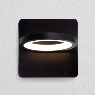 VONN Lighting VMW17300BL Tania 6-inch Rotative Integrated LED Wall Sconce in Black
