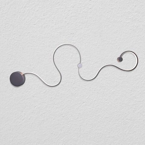 "VONN Lighting VMW12460AL Sirius 51"" Integrated LED Wall Sconce Silver"