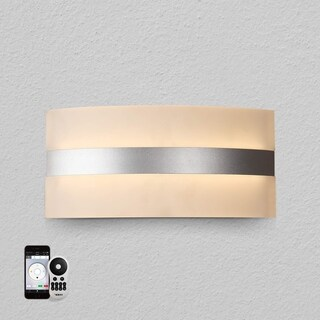 VONN Lighting VHW16620AL Europa 12-inch WiFi-Enabled Tunable-White LED Wall Sconce, VISION Series