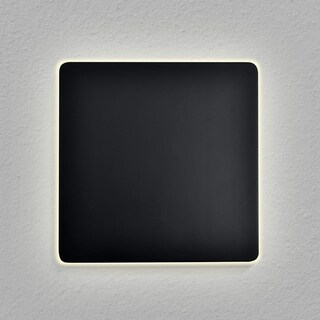 "VONN Lighting VMW13400BL Eclipse Square 7"" LED Wall Sconce Black"