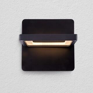 VONN Lighting VMW17400BL Atria 6-inch Rotative Integrated LED Wall Sconce in Black