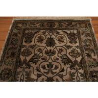 Traditional Ornamental Oriental New Zealand Wool Area Rug - 5' x 8'