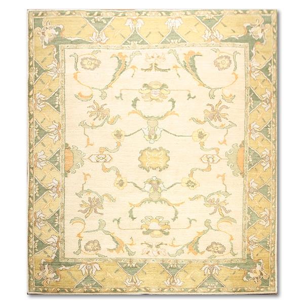 Swiss Wash Michaelian Kohlberg Oriental Multicolor Wool Area Rug - 8' x 10'