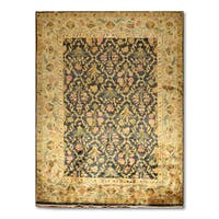 Glam Ornamental Multicolored Wool Persian Oriental Area Rug (8'4 x 11'4) - multi