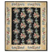 Country Cottage Rustic Persian Oriental Area Rug - multi
