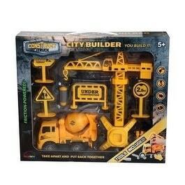 Mukikim - Construct A Truck - City Builder Mixer