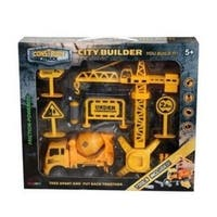 Construct A Truck- City Builder Mixer. Take Apart, put back together, friction powered, with pretend play toys.