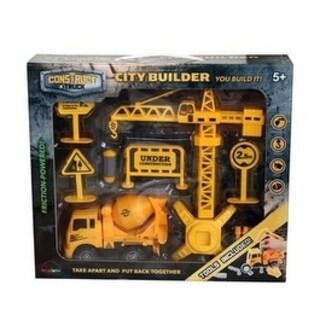 Construct A Truck- City Builder Mixer