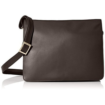 Shop Visconti 753 Womens Large Leather Crossbody Messenger Bag - Free  Shipping Today - Overstock - 18610468 7e9fb2c6e