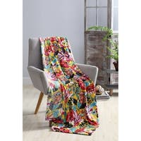 VCNY Home Sevilla Velvet Plush Throw