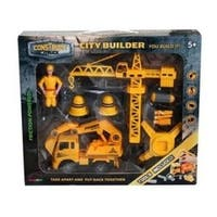Construct A Truck- City Builder Excavator. Take Apart, put back together, friction powered, with pretend play toys.