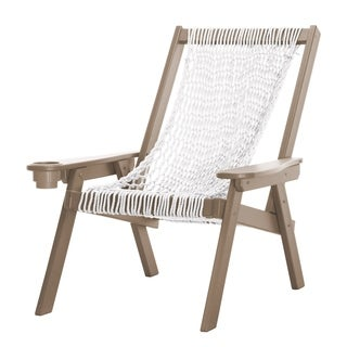 Coastal Duracord Weatherwood Rope Chair