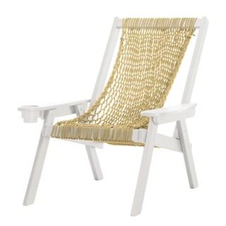 Coastal Duracord White Rope Chair