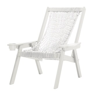 Pawleys Island Hammocks Coastal White Duracord Rope Chair