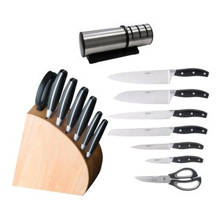 Forged 9pc Cut Set with Sharpener