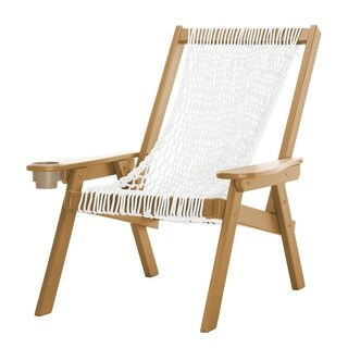 Pawleys Island Hammocks Coastal Duracord Cedar Rope Lounge Chair