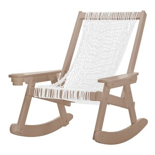 Pawleys Island Hammocks Coastal Duracord Weatherwood Rope Rocker