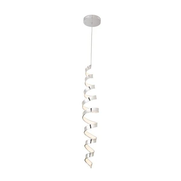 Spera Chrome Acrylic 43-inch Pendant Lamp