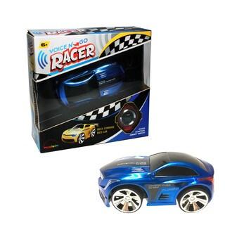 Voice N Go Blue - Voice Controlled Race Car