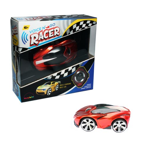 Voice N Go Red - Voice Controlled Race Car