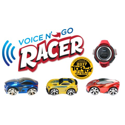 Voice N Go Yellow - Voice Controlled Race Car