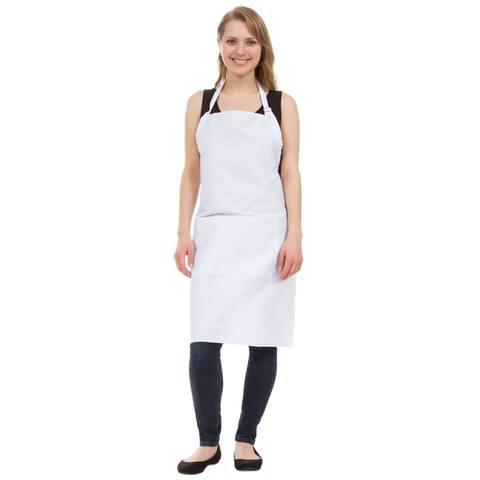 Leisureland Full Length Adjustable Pocket Kitchen Apron