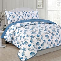 Panama Jack Sea Shells 3-piece Quilt Set