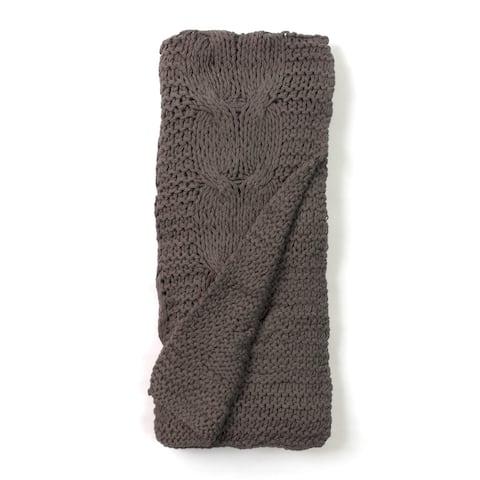 Michaela Knitted Throw Blanket