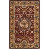 Safavieh Handmade Antiquity Red/ Orange Wool Rug - 3' x 5'