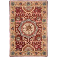 Safavieh Handmade Antiquity Red/ Orange Wool Rug - 4' x 6'