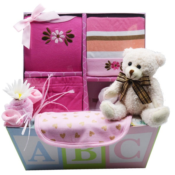 Sweet Baby Gift Basket (Boy or Girl)