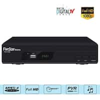 Five Star DTV DVR HD Video Recorder Converter Box TV 1080p Analog with Record