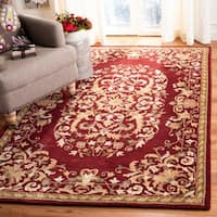 Safavieh Handmade Heritage Timeless Traditional Red Wool Rug - 5' x 8'
