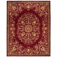 Safavieh Handmade Heritage Timeless Traditional Red Wool Rug (6' x 9')