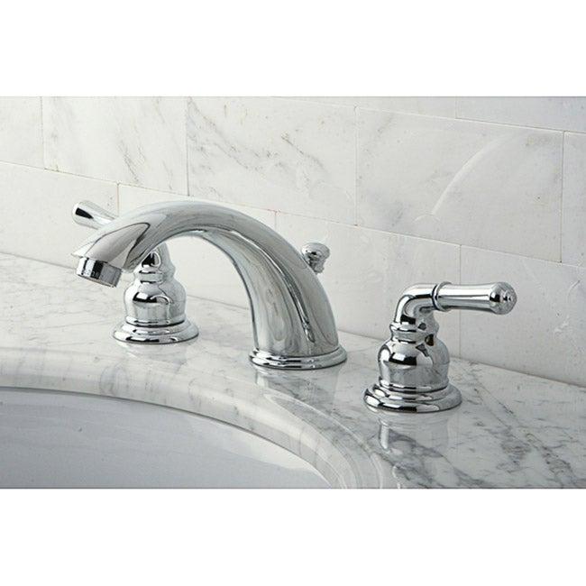 Stylish Chrome Widespread Bathroom