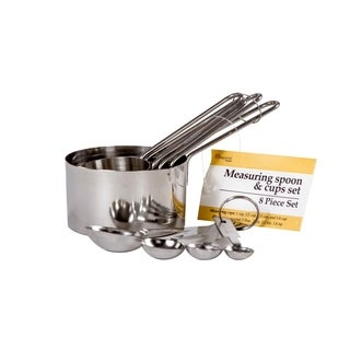 8-Piece Measuring Cups - Measuring Spoons Set