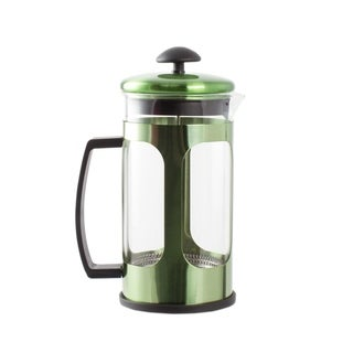 Premium Brew 30 OZ French Coffee Press w/ Fine Mesh Filter & Plunger (Green)