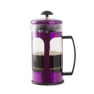 Premium Brew 30 OZ French Coffee Press w/ Fine Mesh Filter & Plunger (Purple)