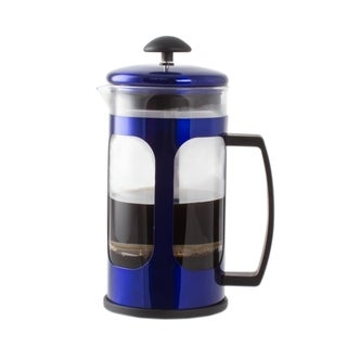 Premium Brew 30 Oz French Coffee Press Maker - Blue